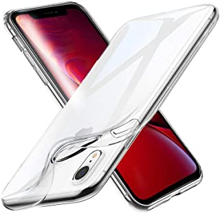 X-Level Anti-Slip Clear Case Cover Compatible for Apple iPhone Xr, 6.1 Inch