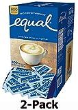 EQUAL 0 Calorie Sweetener, Sugar Substitute, Zero Calorie Sugar Alternative Sweetener Packets, Sugar Alternative, 800 Count (Pack of 2)