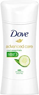 Dove Advanced Care Anti-Perspirant Deodorant, Cool Essentials 2.60 oz (Pack of 10)