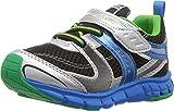 TSUKIHOSHI TSK 80C Sneaker (Toddler/Little, Silver/Black, Size Toddler 10.0