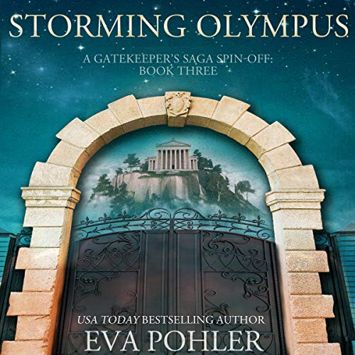 Storming Olympus audiobook cover art