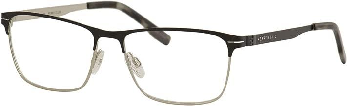 Perry Ellis Men's Eyeglasses PE408 PE/408 2-Matte Black Optical Frame 55mm