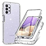 PULEN for Samsung Galaxy A32 5G Case with Built-in Screen