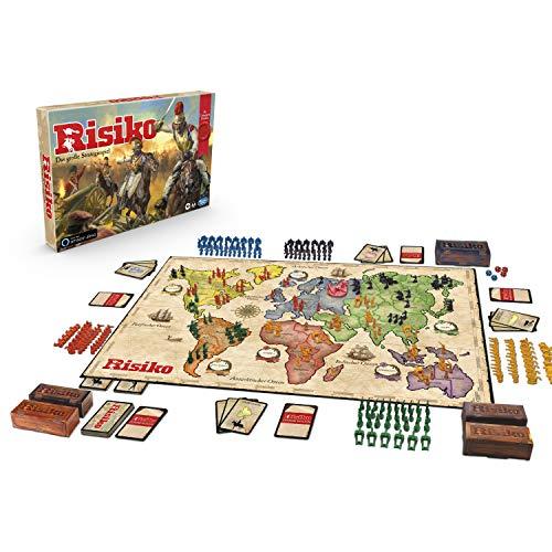 Hasbro Gaming Risiko Drachenedition, DAS Strategiespiel mit 5 Spielvarianten: klassisch, Missionen, Duell für 2 Spieler, Drachen-Risiko oder Turbo-Risiko, exklusiv bei Amazon, Brettspiel ab 10 Jahren