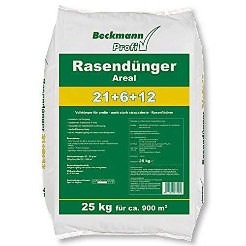 25 kg Premium Rasendünger mit Sofortwirkung Boni-Shop® Profi Rasen Dünger FREI HAUS