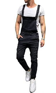 Best mens slim fit black overalls Reviews