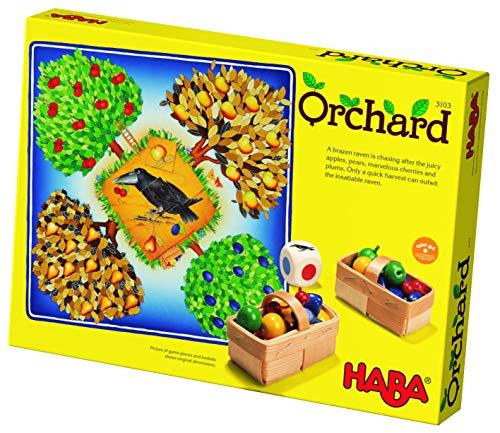 HABA 3103 Orchard Game – Une Introduction coopérative Classique aux Jeux de société pour Les Enfants de 3 Ans et Plus (fabriqué en Allemagne)