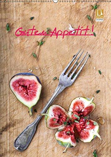 Guten Appetit ! (Wandkalender 2019 DIN A2 hoch): 12 mal appetitlich Angerichtetes (Geburtstagskalender, 14 Seiten ) (CALVENDO Lifestyle)