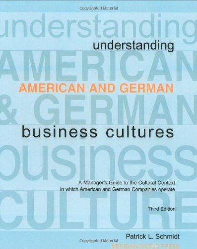 Understanding American and German Business Cultures
