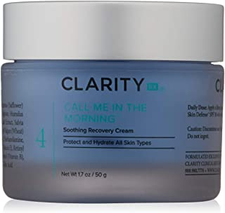 ClarityRx Morning Soothing Recovery Cream - Moisturizing Cream for Face, Perfect Daytime Cream for Under Makeup with Comfortable Hydration