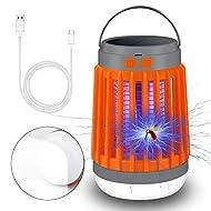 Molbory Campinglampe Solar Campinglampe UV Licht Insektenvernichter Mückenkiller Camping Lantern IP67 wasserdicht tragbar Mückenvernichter Zeltlampe USB Wiederaufladbar für Innen und Außen