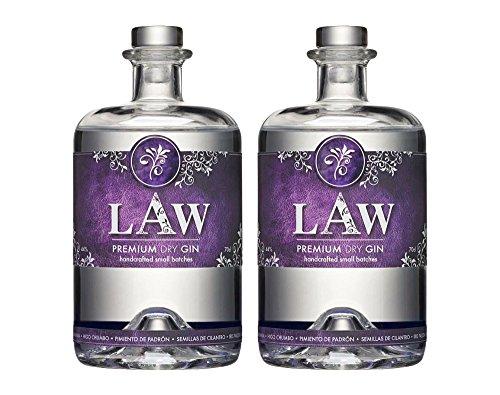 Law Premium Dry Gin Ibiza - 2 x 70cl