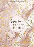 Wochenplaner 2019 2020: Terminkalender, Wochenplaner und Taschenkalender von Oktober 2019 bis Dezember 2020 zum organisieren, planen und notieren - Kalender 2019 2020 - Kalender Meister