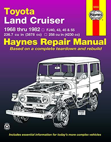 mächtig Toyota Land Cruiser, 1968-1982: 1968-1982 (Hanes-Handbuch)