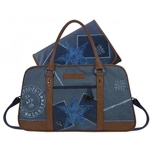 STAPELGOED 500-6749- 2 Thougher Wickeltasche, Größe M, blau
