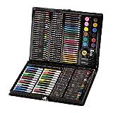 m·kvfa 168 piezas Deluxe Art Set Suministros para dibujo pintura y más en un caso regalo para principiantes y varios artistas Navidad vacaciones cumpleaños