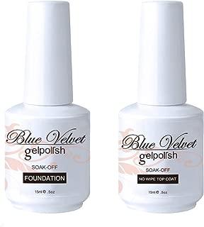 Blue Velvet Gel Nail Polish Set Base Coat Nail Polish Kit 15ML