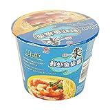 Tongyi Paquete de espaguetis instantáneos de camarones de 12 x 108 gr 0.108 ml - Pack de 12