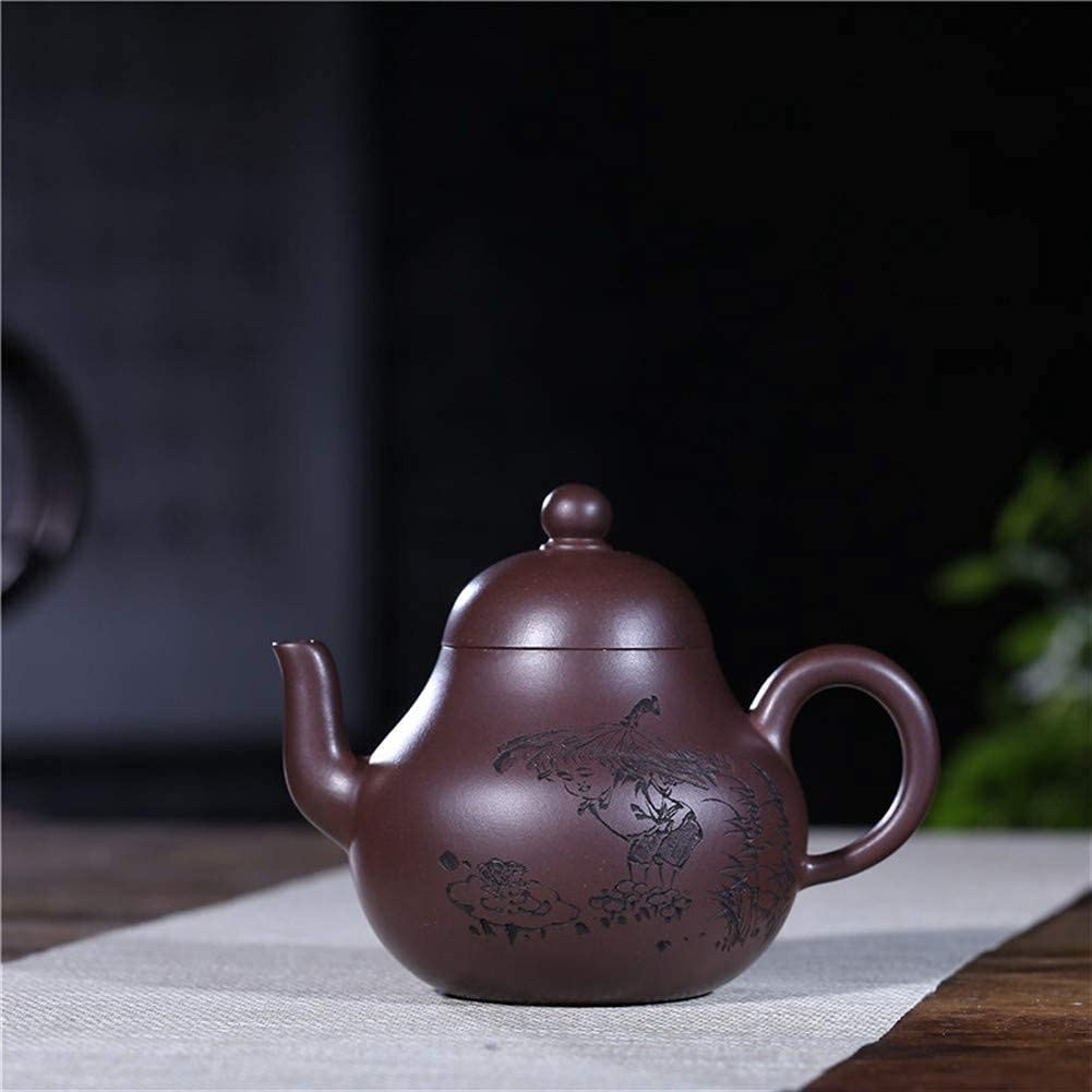 Limited time trial price HUAXUE Teapot trend rank Japanese, Purple Cultural Clay Old Revolution