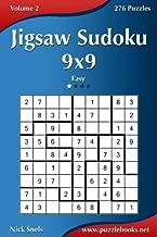 Jigsaw Sudoku 9x9 - Easy - Volume 2 - 276 Puzzles
