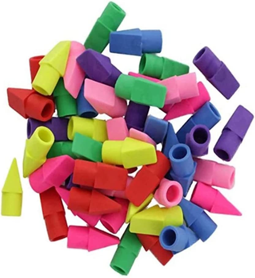 50 shopping PCS Erasers Pencil Top ! Super beauty product restock quality top! Eraser Toppers Stud Caps