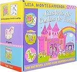 Castelo de contos de fadas: leia, monte e aprenda