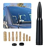 Car Vehicle Truck Replacement Antenna Compatible with Ford F150 F250 F350 Super Duty Raptor Dodge RAM 1500 2500 3500 (Bullet Antenna)