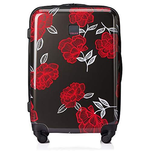 Tripp SlateWatermelon Bloom Medium 4 Wheel Suitcase