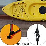 YYST Sit - in Kayak Bungee Rigging Kit 8 Feet Black with screws and rivets