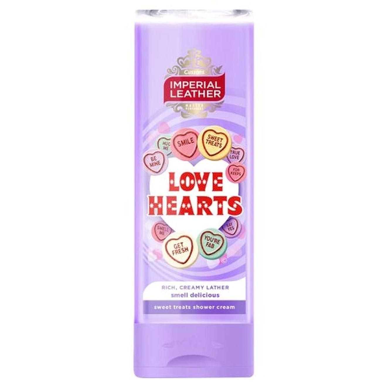 擬人高層ビル複雑な[Imperial Leather ] 帝国革の愛の心シャワージェル250ミリリットル - Imperial Leather Love Hearts Shower Gel 250Ml [並行輸入品]