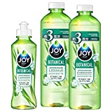 【まとめ買い】 ジョイ ボタニカル 食器用洗剤 レモングラス&ゼラニウム 本体 190mL + 詰め替え 440mL×2個