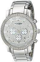 [アクリボス XXIV]Akribos XXIV 腕時計 Grandiose Dazzling Diamond Chronograph Stainelss Steel Bracelet Watch AKR439SS メンズ [並行輸入品]
