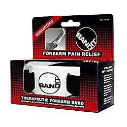 Band It. The Best Tennis Elbow and Golfers Elbow Wrist Strap