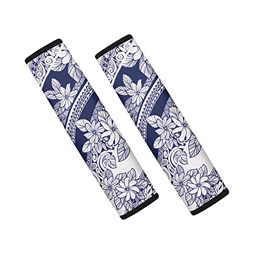 LLDDSS Hombro del cinturón de Asiento Resistente a la Resistencia  Protección  Protector de Cojines Cinturones de Seguridad Strap Strap Pads Conjunto de 2pcs (Color Name : White)