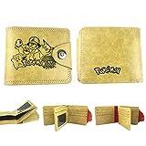 Wallet, Wallet Cartoon PU Short Buckle Wallet Tri-fold Wallet Change Storage Bag (Baby Xiaozhi)
