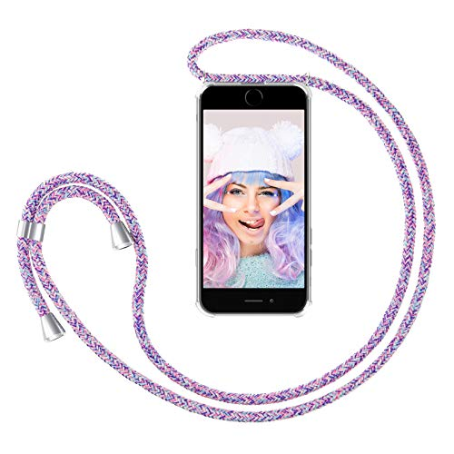 ZhinkArts Handykette kompatibel mit Apple iPhone 7/8 / iPhone SE (2020) - 4,7