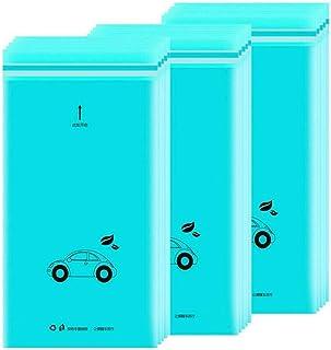 Amoyer 50pcs / Set Auto-adhésives jetables Voiture Biodégradable Poubelle Porte-Sac Poubelle de Stockage pour Voiture