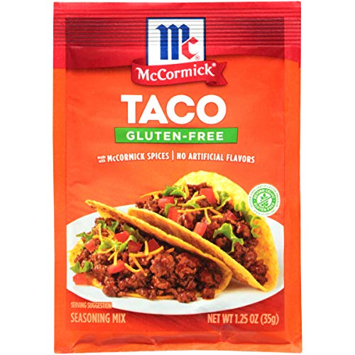 McCormick Gluten Free Taco Mix, Pack of 12