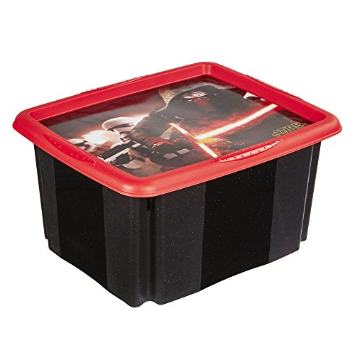 Keeeper 1221480110700 Anna - Star Wars Boîte d'empilage/rotation Polypropylène Noir 42,5 x 35,2 x 22,5 cm