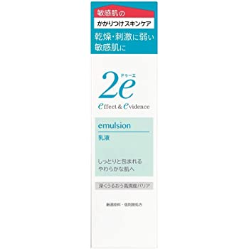 2e(ドゥーエ) 乳液 敏感肌用乳液 低刺激処方 深くうるおう高潤度バリア 140ml 化粧水