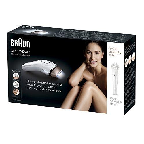 Braun Silk-expert IPL BD 5008 Oro, Blanco Luz pulsada intensa (IPL) -