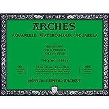 Unbekannt Arches–Bloc para Acuarelas, Madera, Color Blanco, Madera, weiß, 41 x 31 x 1 cm
