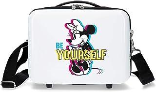 Disney Minnie Be Yourself - Traits Trousse de toilette adaptable Blanc 29x21x15 cms ABS