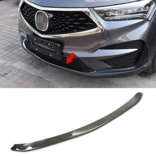 Beautost Fit For Acura New RDX 2019 2020 Front Grill Bumper Protector Guard Cover Trim