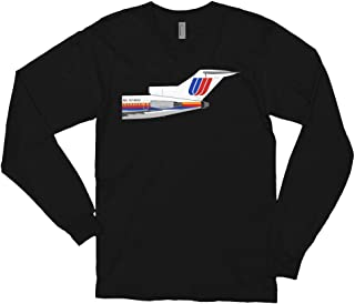 United Airlines Boeing 727 Tail Section Unisex Long Sleeve t-Shirt