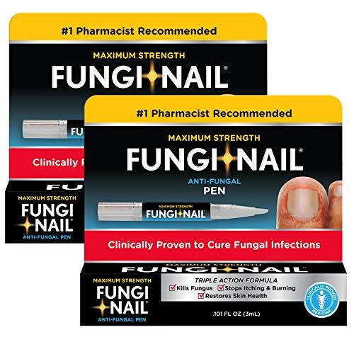 Fungi Nail Fungi-nail Pen applicator Anti-fungal Solution, 0.10 Ounce (Pack of 2)