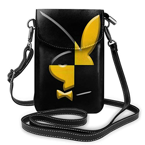 Hdadwy Playboi Carti Small Crossbody Mobile Wallet Holder Monedero Bolso de hombro para mujer para mujer