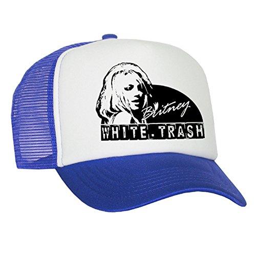 Bastart Britney Casquette en maille Blanc/bleu