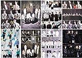 BTS Bangtan Boys - Póster de Bangtan Boys (8 unidades, 42 x 29 cm), Kpop Bangtan Jimin V Suga Jin J-Hope Rap Monster