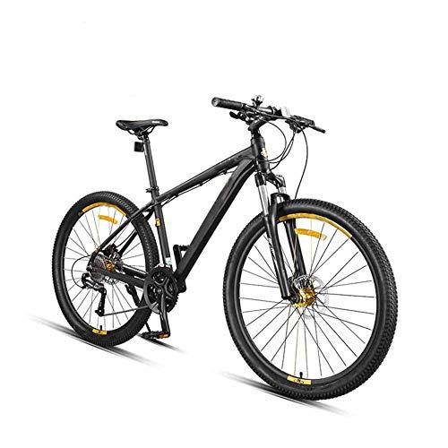 27,5 Zoll Mountainbike, MTB, Aluminiumlegierung Soft Tail Frame Doppelstoßdämpfer-Scheibenbremse, 27 Geschwindigkeit Gangschaltung, Gabelaufhängung, Jungen Fahrrad Geeignet Von 165-195 cm